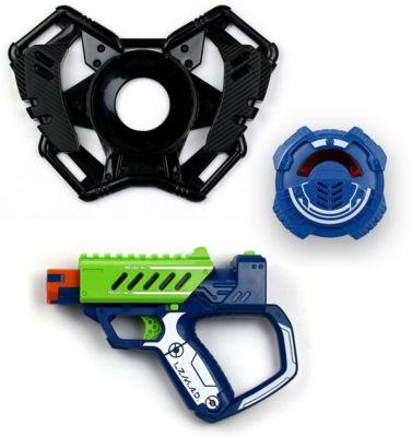 Стартовый набор Silverlit  Бластер с мишенью , зелёный, артикул:10077769 - Игрушечное оружие