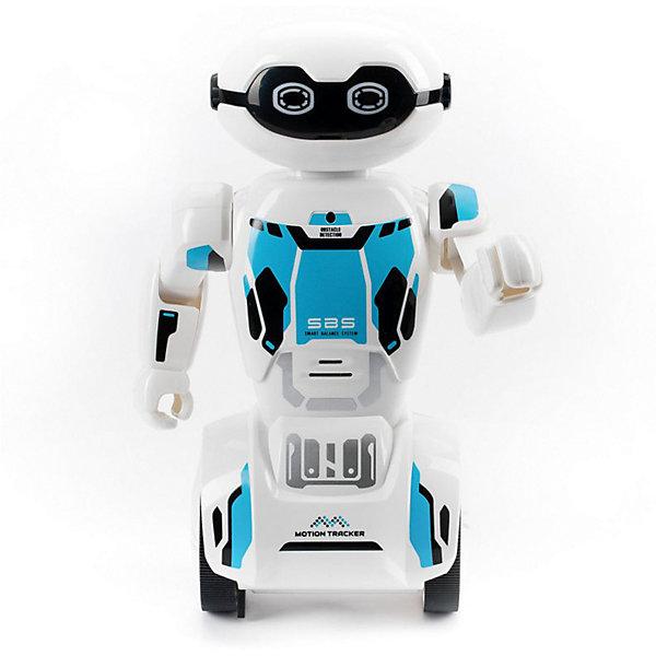 Silverlit Радиоуправляемый робот Silverlit Макроробот, синий робот silverlit programme a bot с функцией программирования до 36 команд 88307