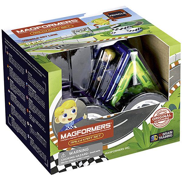 Купить Магнитный конструктор MAGFORMERS Rally Kart Set (Boy), Китай, Мужской