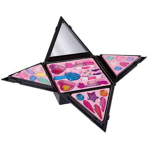 Bondibon Детская декоративная косметика Bondibon Eva Moda Косметичка-пирамида, раскладная декоративная косметика на лето