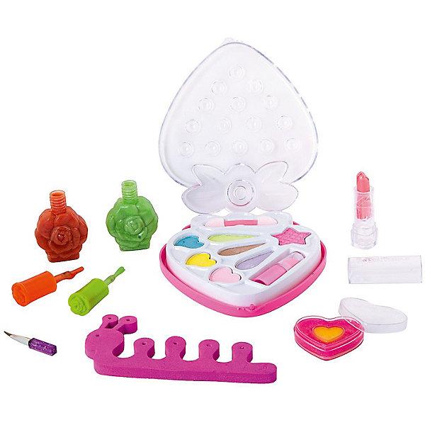 Bondibon Детская декоративная косметика Bondibon Eva Moda с 2 лаками для ногтей, 15,6 г., розовая