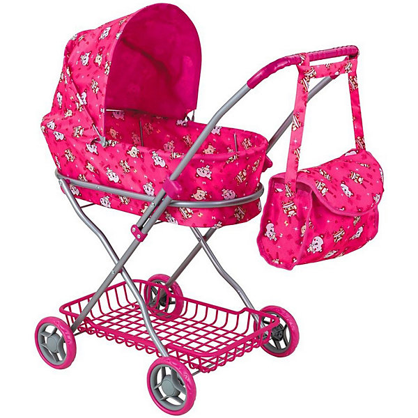 Купить Коляска для кукол Buggy Boom Mixy, розовая, Китай, розовый, Женский