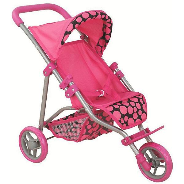 Купить Коляска для кукол Buggy Boom Nadin, розовая, Китай, розовый, Женский