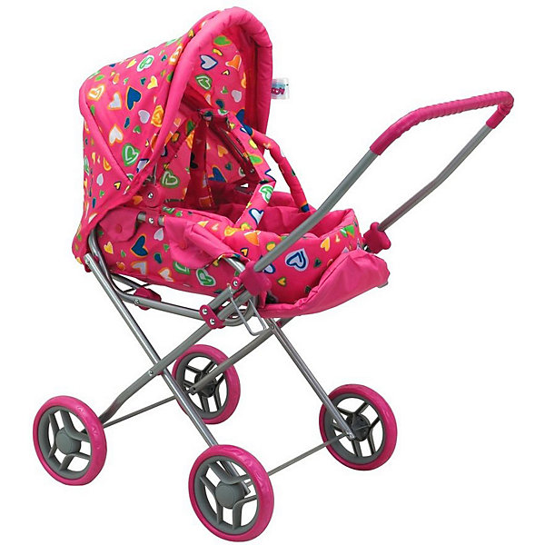 Купить Коляска-трансформер для кукол Buggy Boom Mixy, розовая, Китай, розовый, Женский