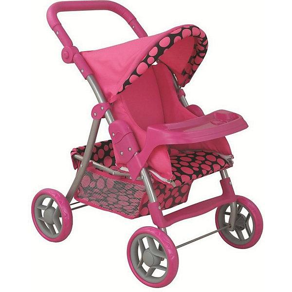 Купить Коляска для кукол Buggy Boom Skyna, розовая, Китай, розовый, Женский