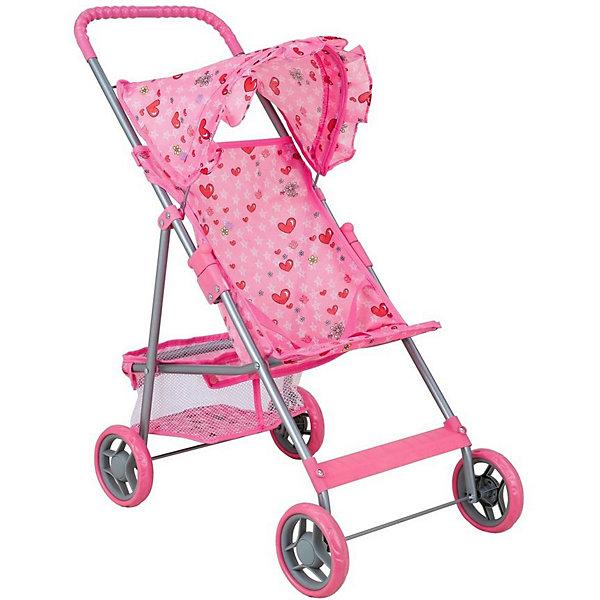 Buggy Boom Коляска для кукол Mixy, светло-розовая