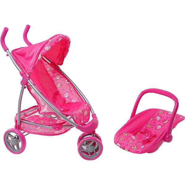 Купить Коляска для кукол Buggy Boom Nadin 2 в 1, розовая, Китай, розовый, Женский