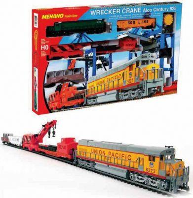 Железная дорога Mehano Wrecker Crane, артикул:10084686 - Транспорт