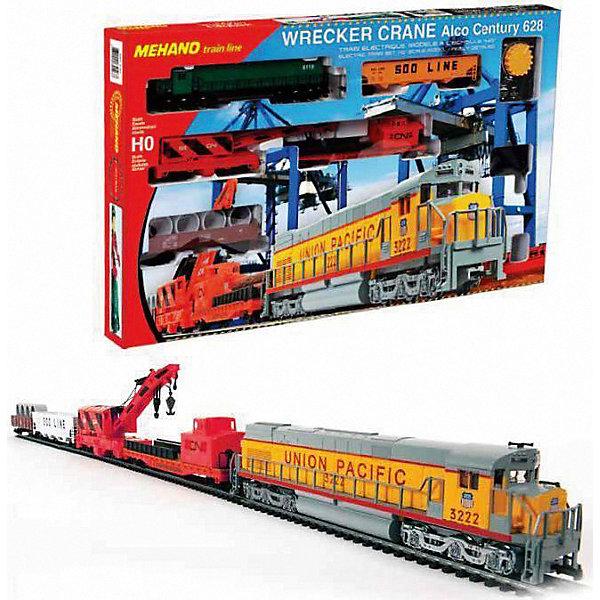 Mehano Железная дорога Mehano Wrecker Crane цена 2017