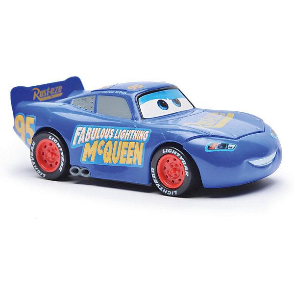 Disney Машина на р/у Disney Тачки 3: Молния Маккуин, 13 см, син. nissan машина р у 1 24 350z 18 4х8 2х6 5см 3 2 бат аа в комплект не входят 3 цвета артикул 27700пц код товара 507885