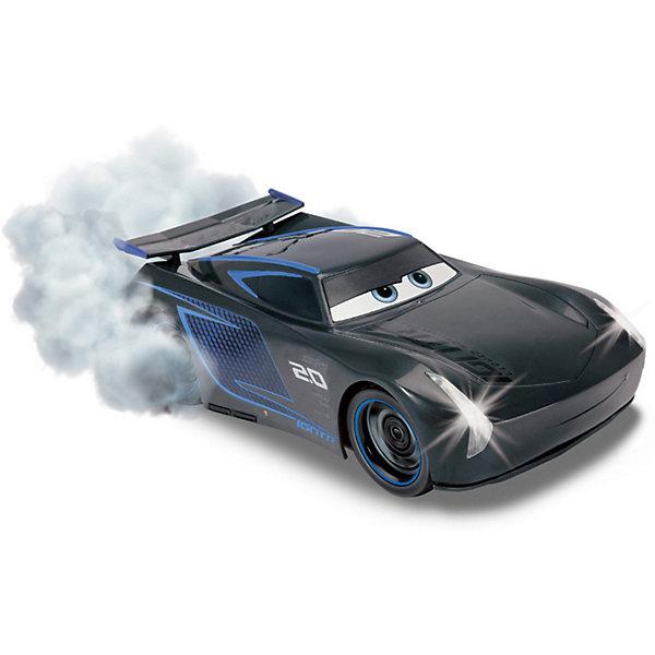 Disney Машина на р/у Disney Тачки 3 Джексон Шторм, со звуковыми и световыми эффектами, 25 см мягкие игрушки disney лэмми 25 см