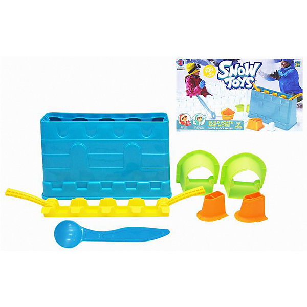 1Toy Набор для лепки замков из снега 1Toy, 7 предметов набор из двух предметов alai s bay a124