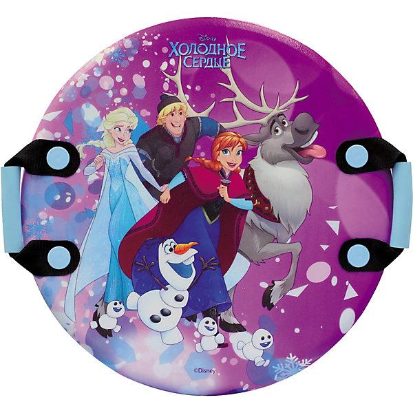 1Toy Ледянка 1Toy Disney Холодное сердце, 54см ледянки disney холодное сердце 92 см с плотными ручками