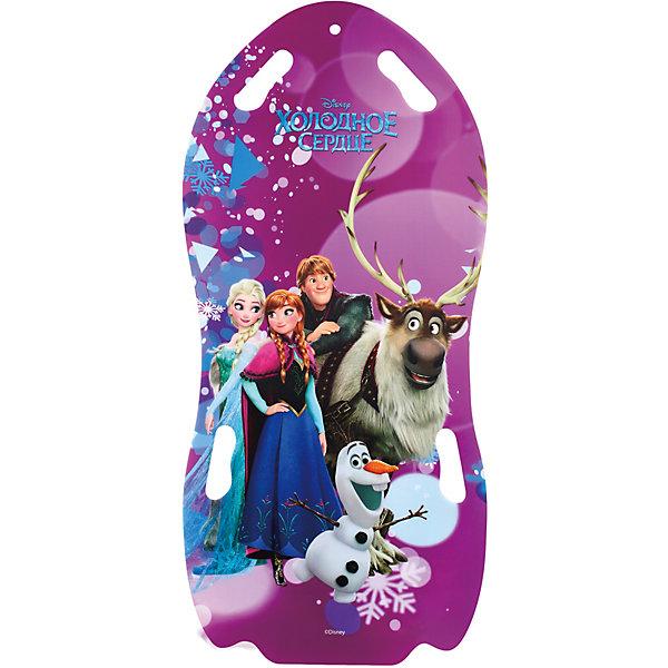 1Toy Ледянка для двоих1Toy Disney Холодное сердце ледянки disney холодное сердце 92 см с плотными ручками