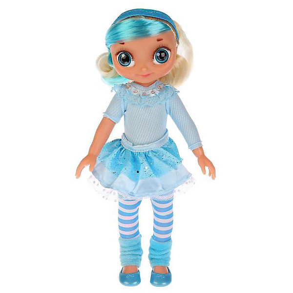 КАРАПУЗ Кукла Карапуз Сказочный патруль Снежка с набором волос, 33 см карапуз кукла рапунцель со светящимся амулетом 37 см со звуком принцессы дисней карапуз