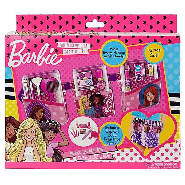 - Детская декоративная косметика Markwins Barbie, с поясом визажиста детская косметика цептер