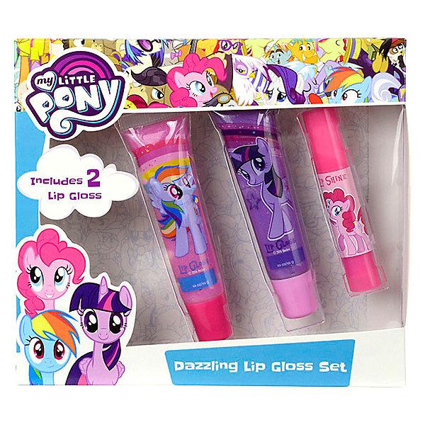 - Детская декоративная косметика Markwins My Little Pony, для губ детская косметика ева