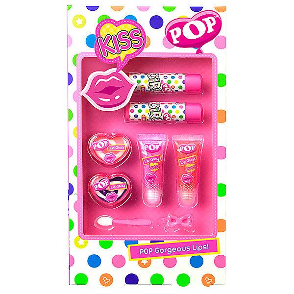 - Детская декоративная косметика Markwins POP для губ декоративная косметика green mama