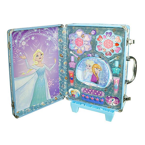 Купить Детская декоративная косметика Markwins Холодное сердце , в дорожном чемодане, -, Китай, Женский