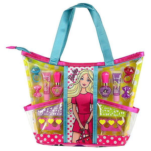 - Детская декоративная косметика Markwins Barbie с сумкой декоративная косметика green mama