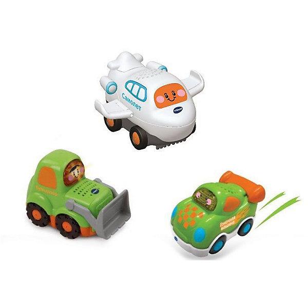 Фото - Vtech Игровой набор Vtech 3 машинки vtech vtech набор детских машинок 3 штуки