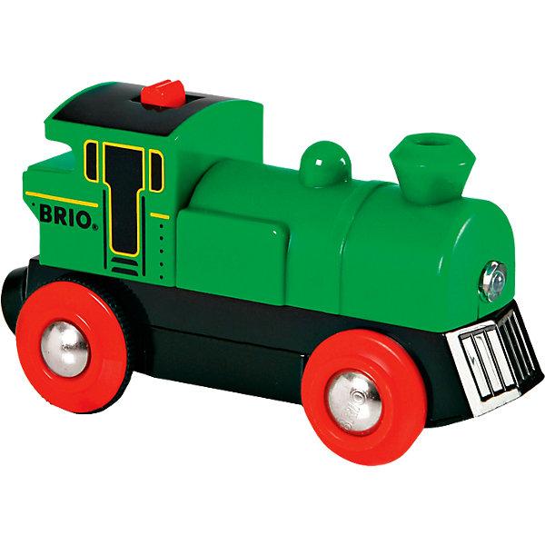 BRIO Поезд со светом, зеленый