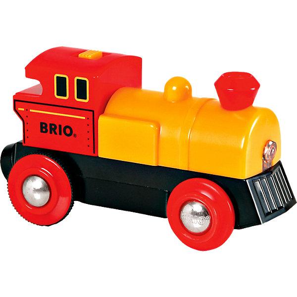 BRIO Паровоз BRIO со светом, желтый игрушка eichhorn паровоз электронный 100001303