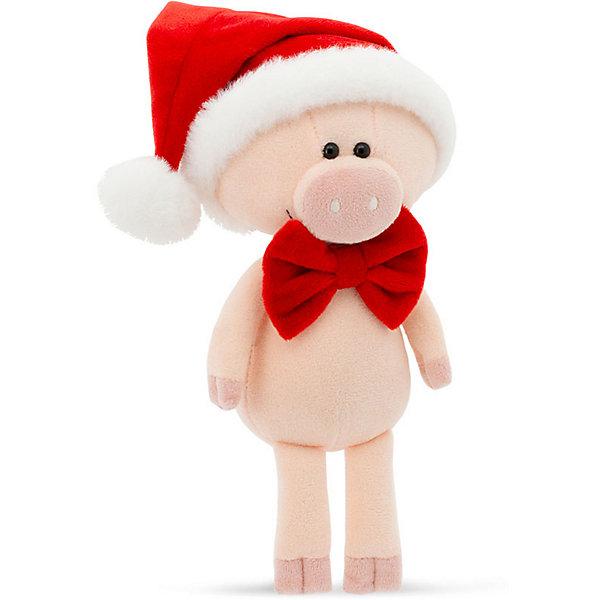 Купить Мягкая игрушка Orange Поросёнок Сантик, 15 см, Китай, розовый, Унисекс