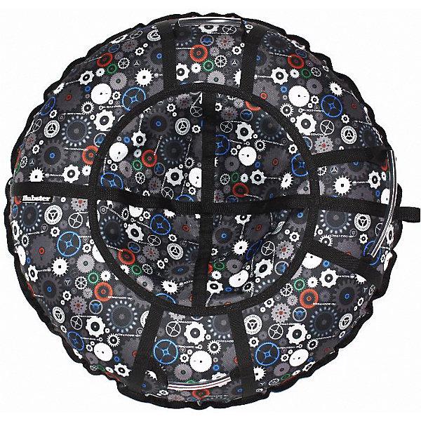 Купить Тюбинг Hubster Люкс Pro Техно, 105 см, Россия, черный, Мужской