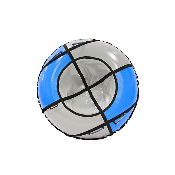 Hubster Тюбинг Hubster Sport Pro синий-серый (90см) тюбинг belon тент спираль аквапарк 85см