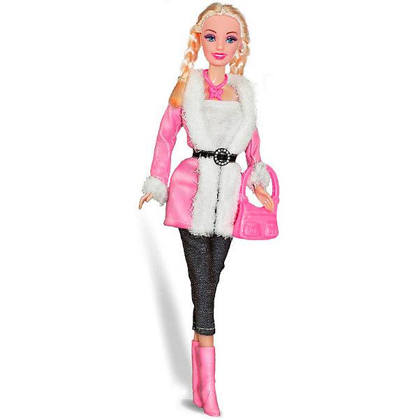 Купить Кукла Toys Lab Городской стиль Ася блондинка с косичками, 28 см, Китай, розовый, Женский