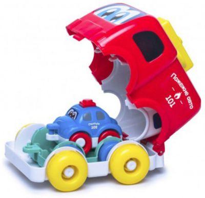 Музыкальная пирамидка Bebelino  Машинки , артикул:10134539 - Игрушки для малышей