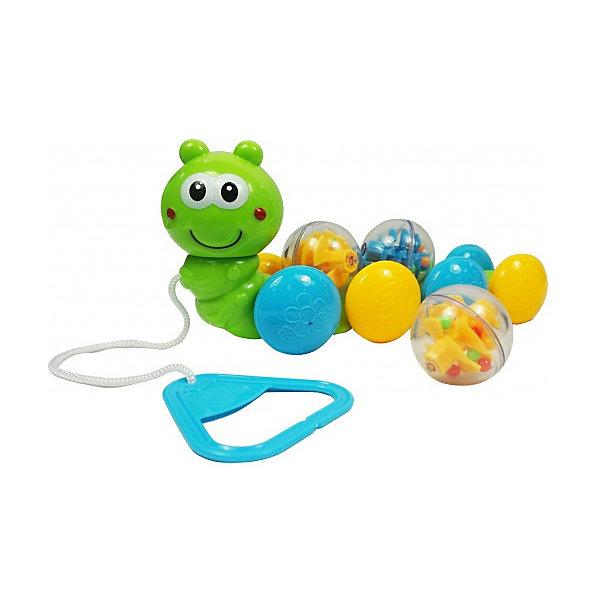 Bebelino Игрушка-каталка Гусеница с шариками