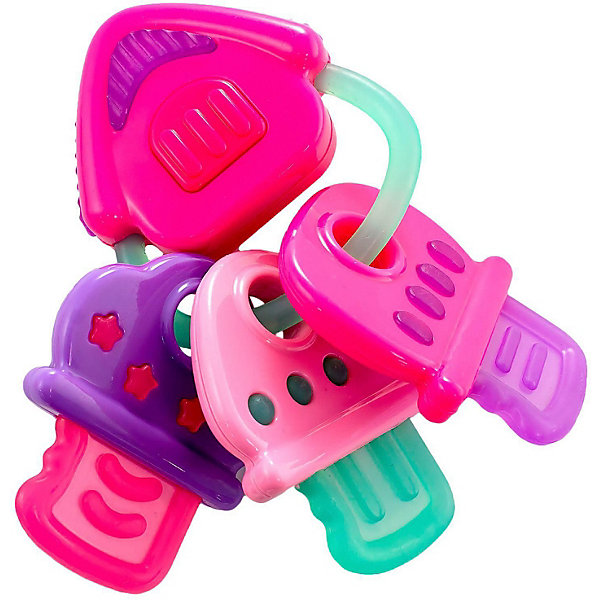 Infantino BKids Музыкальная игрушка Bkids Ключи, с прорезывателем прорезыватели macik забавка ромб с прорезывателем