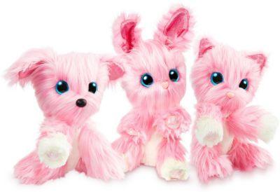 Мягкая игрушка Worlds Apart  Пушистик-потеряшка  Розовый, в закрытой упаковке, артикул:10134583 - Мягкие игрушки