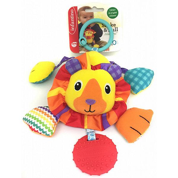 Infantino BKids Игрушка-подвеска Дрожащий львенок