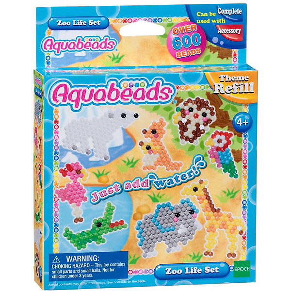 Эпоха Чудес Набор для творчества Aquabeads Зверюшки в зоопарке