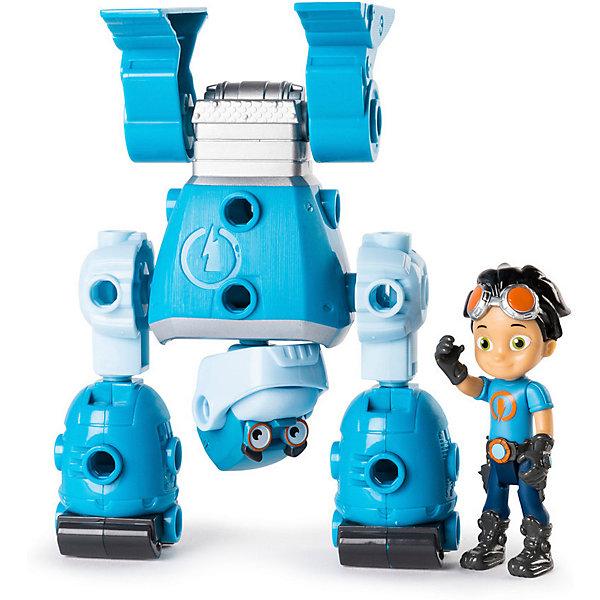 Rusty Rivets Большой строительный набор Spin Master Rusty Rivets Расти и Ботарилла голова для робота паука keye toys space warrior 5