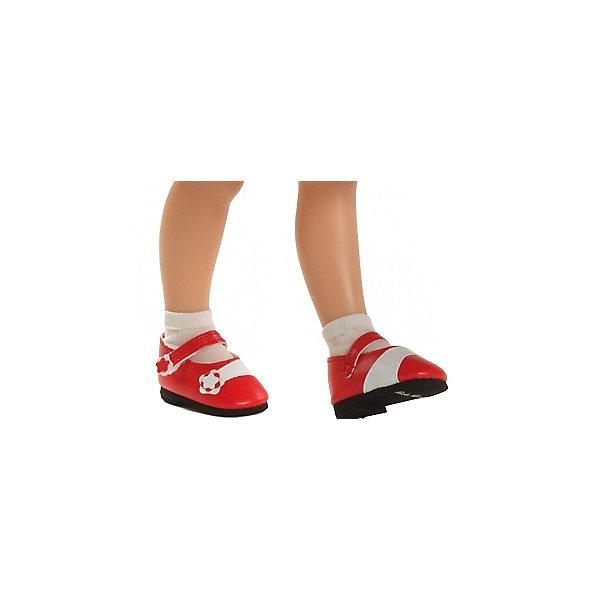 Купить Обувь для куклы Paola Reina Красные туфли, для кукол 32 см, Испания, Женский