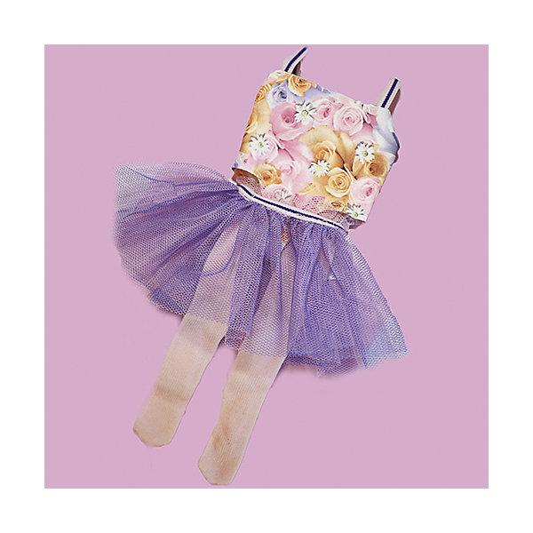 Vestida de Azul Одежда для куклы Vestida de Azul Паулина балерина Платье и колготки