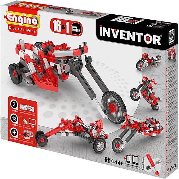 ENGINO Конструктор Engino Мотоциклы, 16 моделей