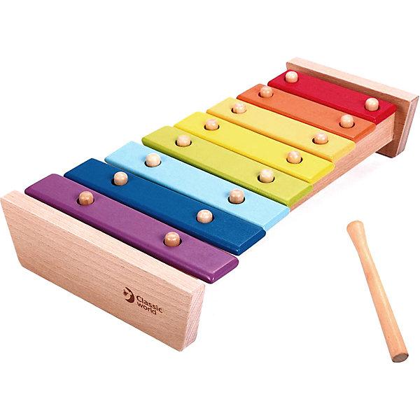 Фото - Classic World Ксилофон Classic World Музыкальная радуга hape ксилофон радуга