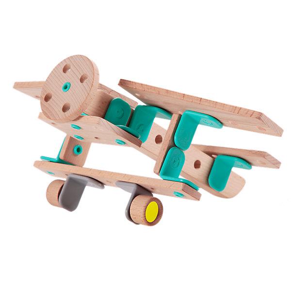 Classic World Деревянный конструктор Classic World Самолет 10 моделей, 27 деталей classic world конструктор super builder set