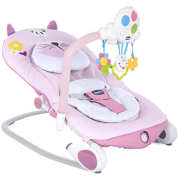 Купить Кресло-качалка Chicco Ballon Baby, miss pink, Китай, розовый, Женский