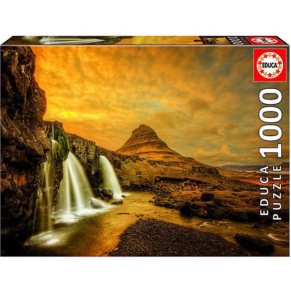 Educa Пазл Водопад Киркьюфетльсфос, Исландия, 1000 элементов
