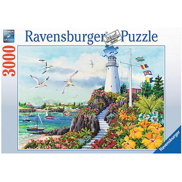 Ravensburger Пазл Ravensburger На чудесном побережье, 3000 элементов пазл ravensburger сейшелы 1500 элементов