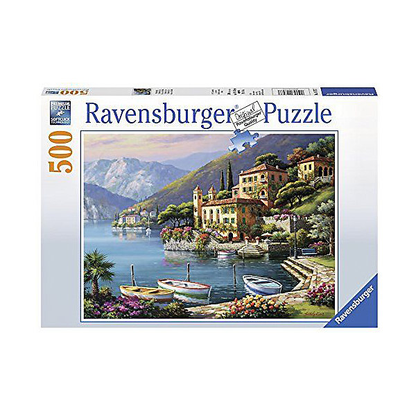 Ravensburger Пазл Ravensburger Красивый вид на виллу, 500 элементов пазл ravensburger сейшелы 1500 элементов
