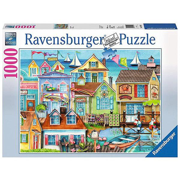 Ravensburger Пазл Ravensburger Вдоль причала, 1000 элементов пазл ravensburger сейшелы 1500 элементов