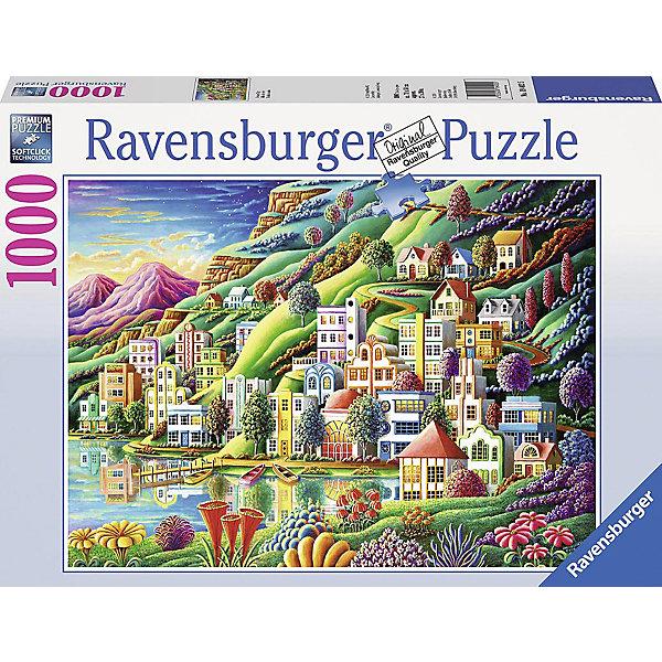 Ravensburger Пазл Ravensburger Волшебный город, 1000 элементов пазл ravensburger волшебный город 1000 элементов