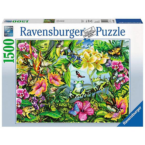 Ravensburger Пазл Ravensburger Найди лягушку, 1500 элементов пазл ravensburger галерея сердец 1500 элементов